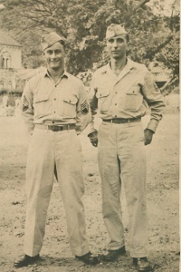 Herb with unidentified American soldier. Likely China.