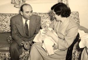 Two years after Millie and Herb moved to Levittown, their first child, Philip, was born on February 12, 1950