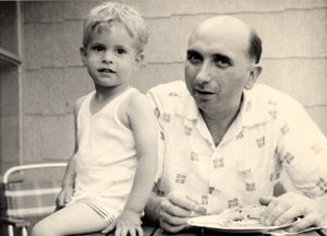 …and Dan on April 13, 1955 (Millie's birthday)